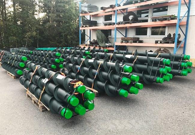 Geonex DTH-Auger rods - Geonex